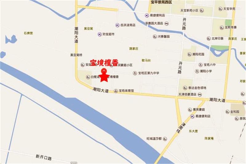宝境檀香交通图