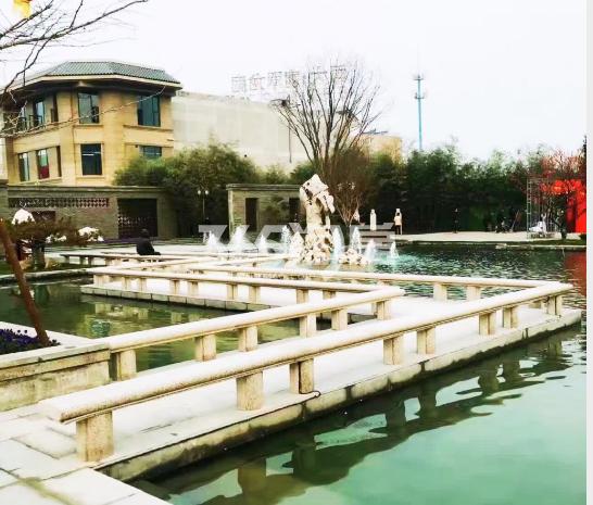 恒大翡翠龙庭小区实景图(拍摄于2018.3.6)