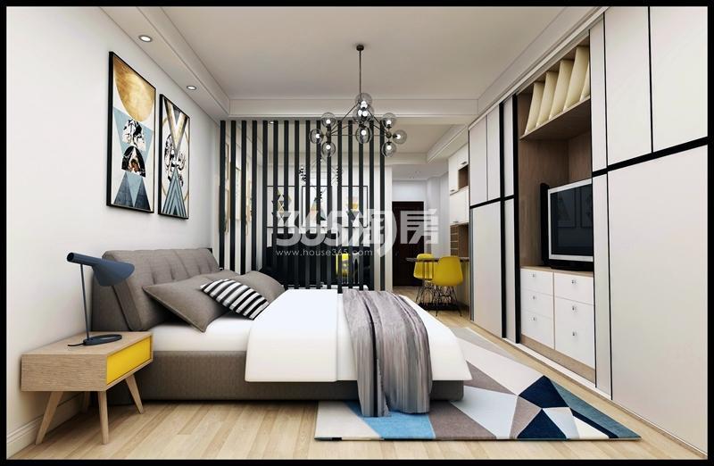 好得家悦城单层公寓效果图