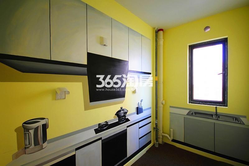雅居乐国际花园B1户型125方样板房——厨房