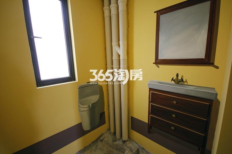 雅居乐国际花园B3户型125方样板房——卫浴