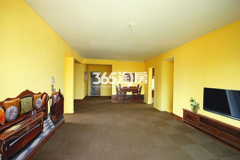 雅居乐国际花园B3户型125方样板房——客餐厅