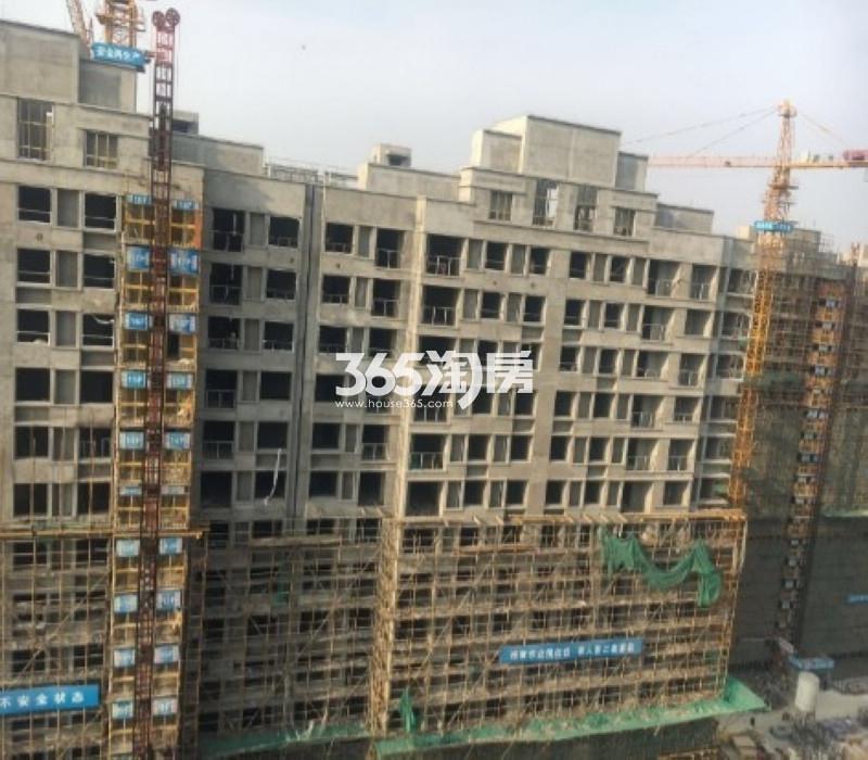 无锡万达城18#楼工程实景图(2017.3 摄)