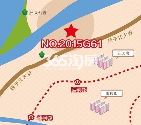 华侨城河西南地块区位图