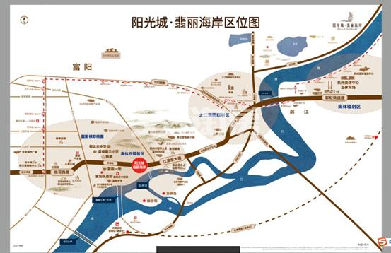 阳光城翡丽海岸交通图