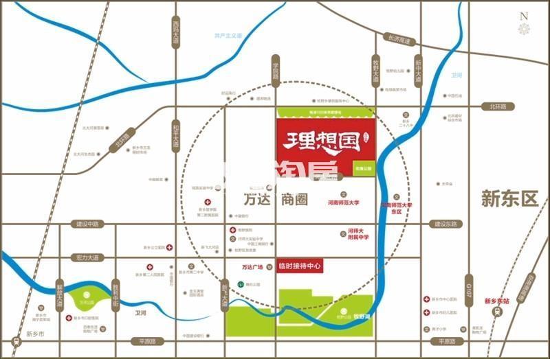 元林理想国交通图