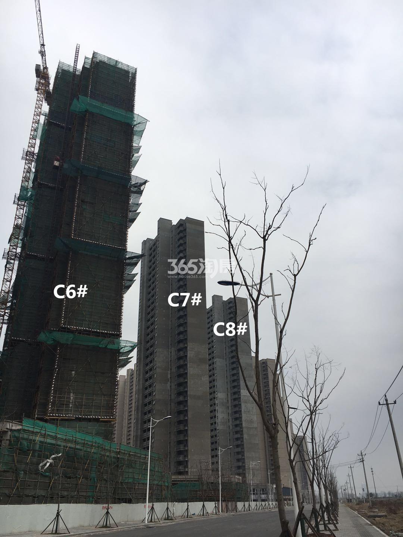 华润国际社区C8、C7、C6#实景图(4.23)