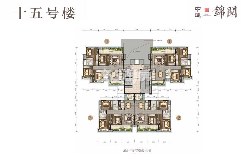 15号楼2平面图
