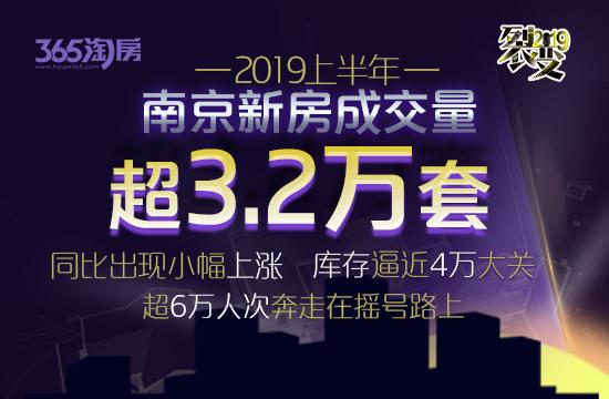 上半年南京新房成交超3.2万套同比微涨 超6万人次奔跑在摇号路上