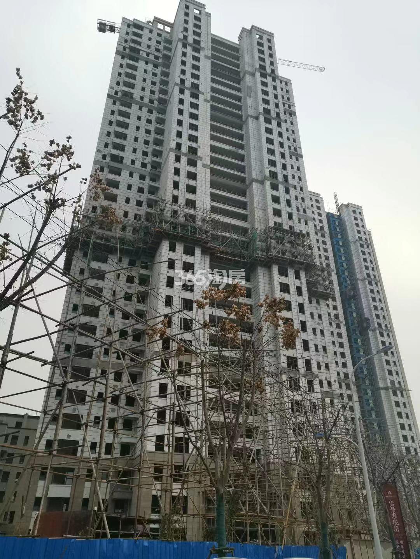 江山大境B地块12号楼实景图(12.30)