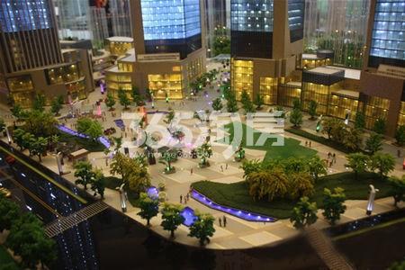 信地城市广场实景图