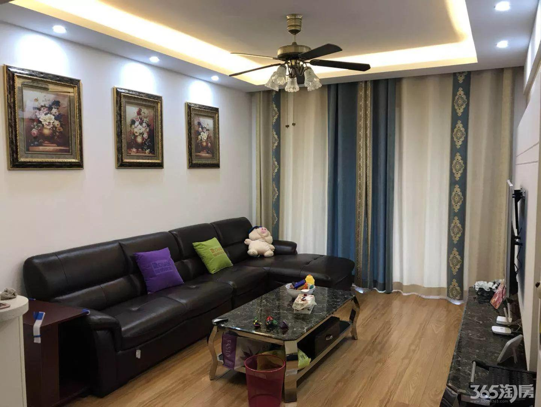 东方龙城甘棠苑2室2厅1卫88平方产权房豪华装未住过