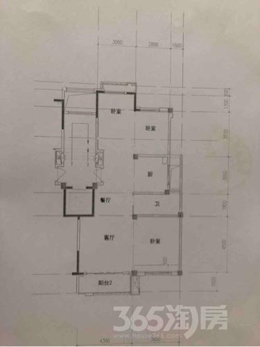 融侨翡翠湾3室2厅2卫110平米毛坯产权房2017年建