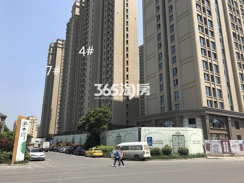 中电颐和府邸4、7号楼进展(9.22)