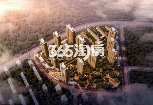 泰盈十里锦城鸟瞰图