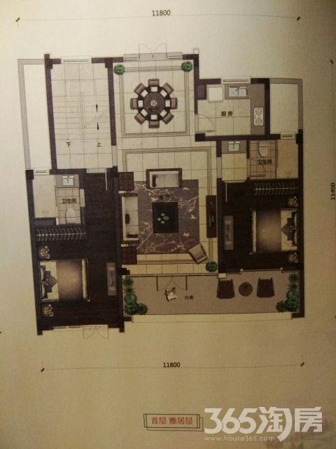 绿城宁江明月镜心园5室2厅4卫240平米