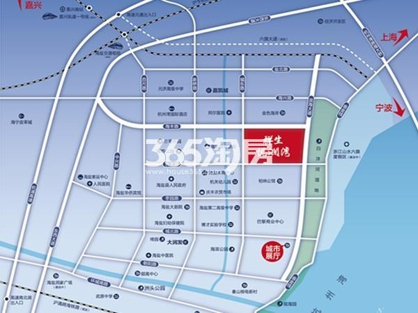 祥生·悦澜湾交通图