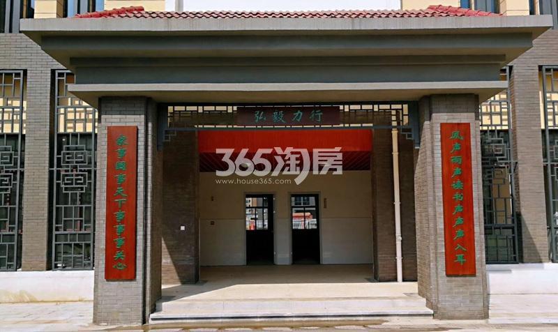 高科荣境周边的金陵小学仙林湖校区(4.27)
