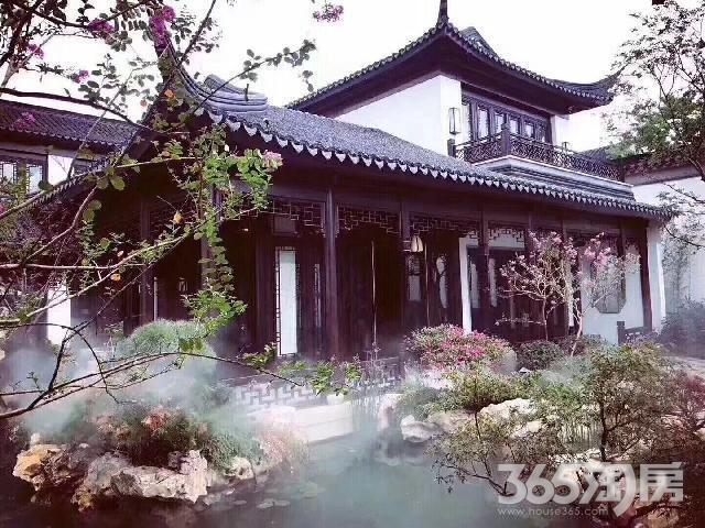 江宁甘泉湖 融创桃花源 石塘竹海 精装中式别墅 一院江南入境