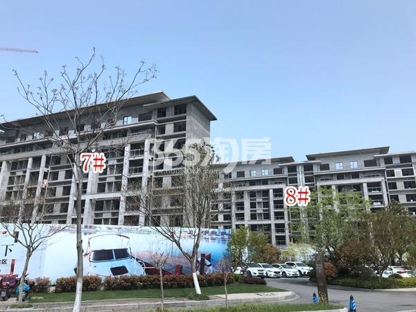 美的公园天下洋房7#、8#楼实景图(2018.4 摄)