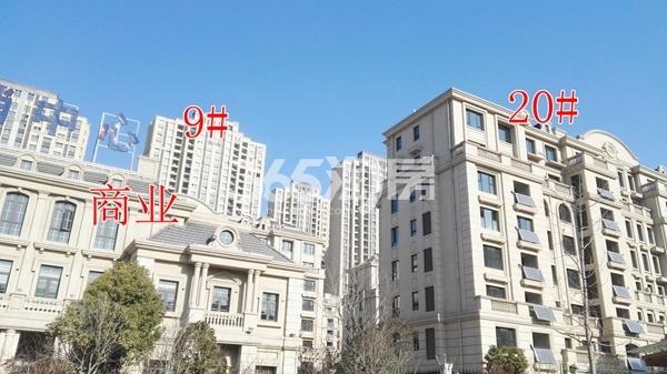 海尔滟澜公馆一期高层9#、洋房20#楼及商业已完工(1.15)