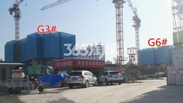 万科翡翠天御高层3#楼建至5层以上 6#楼建至4层-5层(1.15)