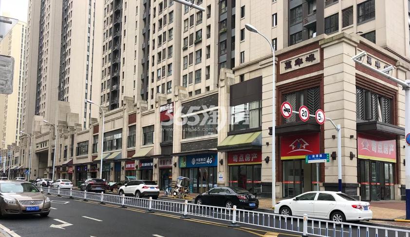 公元天下周边万年埠沿街实景图(2018.8.1)