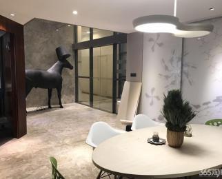 河西奥体北门地铁口 建筑师工社 400平全套家具精装纯写