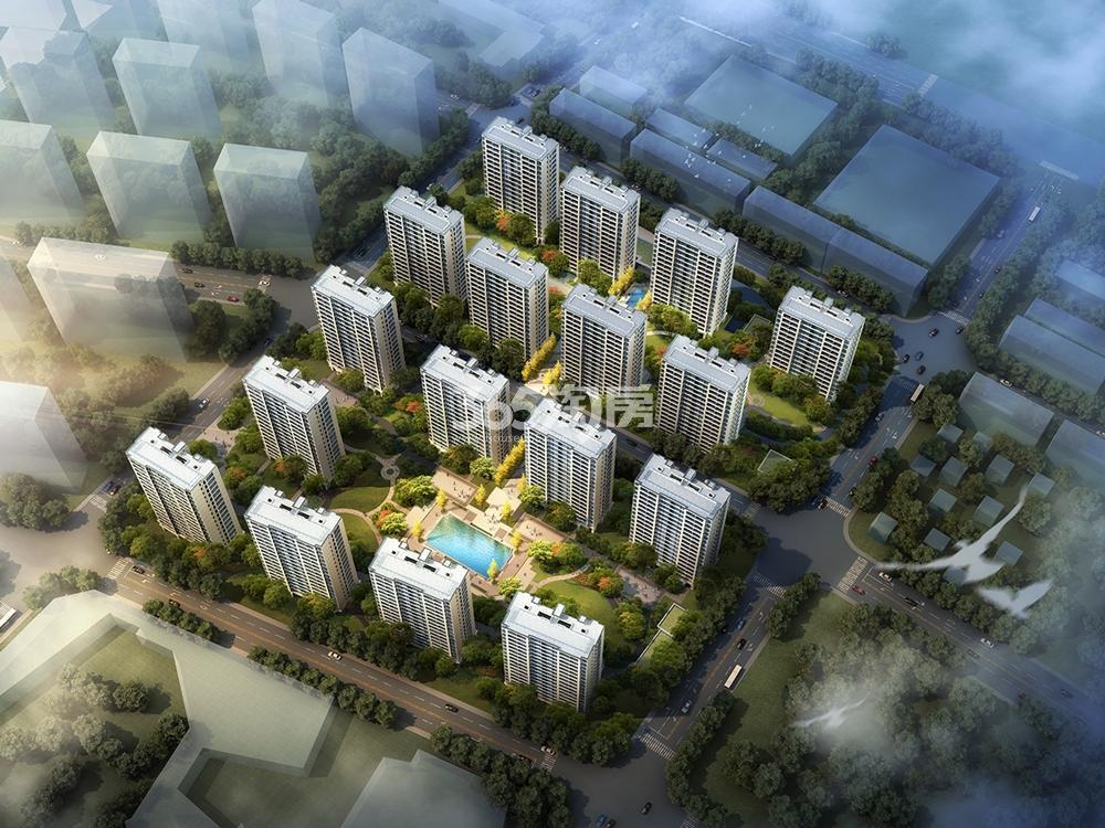 中天雅境公寓鸟瞰图