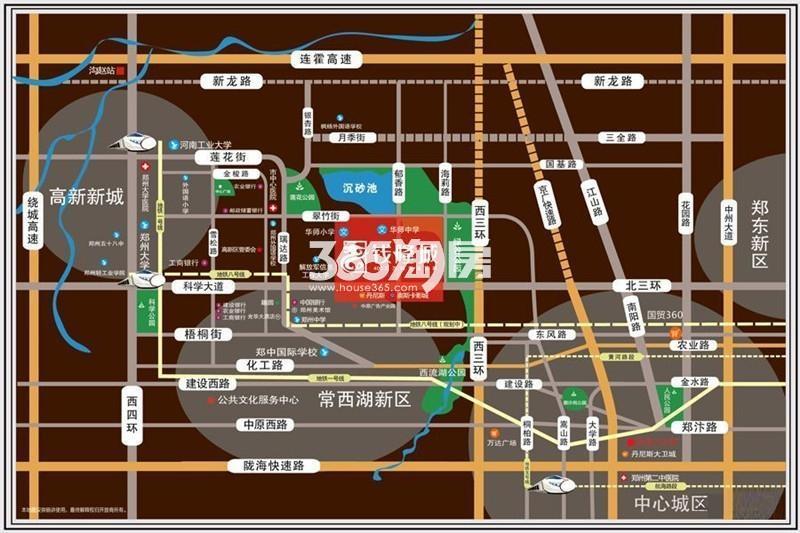 谦祥钱隆城交通图