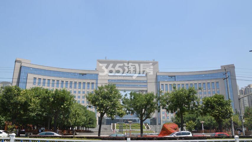 万景荔知湾周边长安区政府(拍摄于2017.12.02)