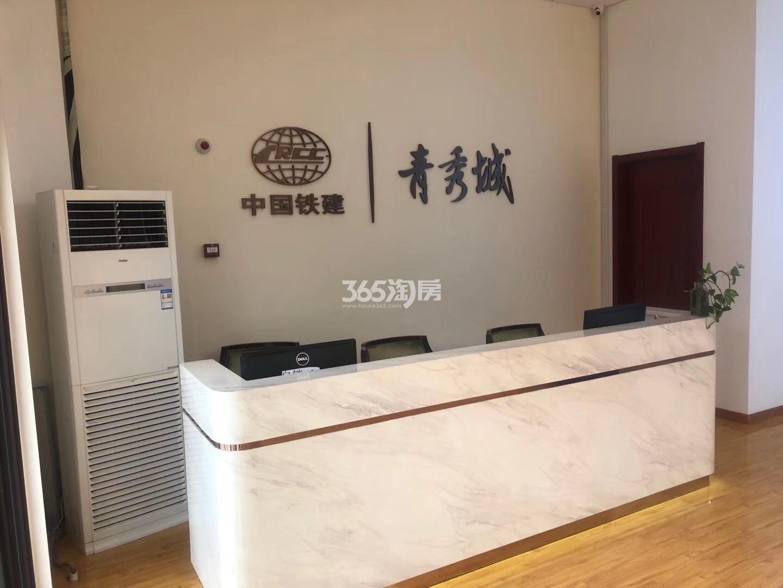 中国铁建青秀城新售楼处实景图(1.16)