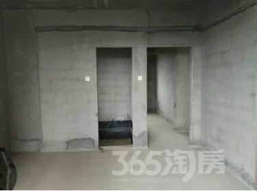 华清园小区2室1厅1卫80平米毛坯产权房2014年建