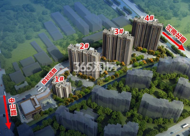 锦熙府楼栋分布图
