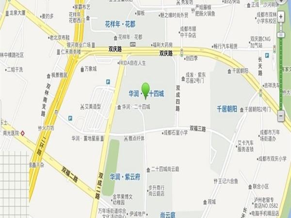 华润二十四城柒公馆交通图