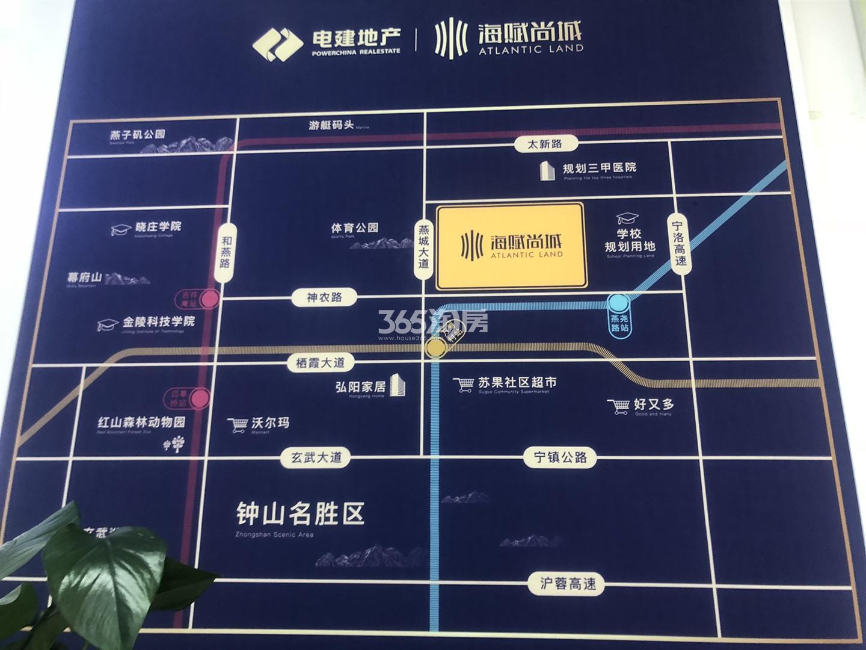 电建地产海赋尚城实景图