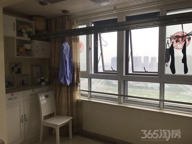 锦盛豪庭2室2厅1卫86.97平米2011年产权房精装