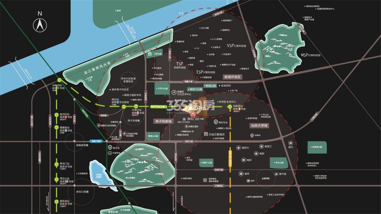 峯汇中心交通图