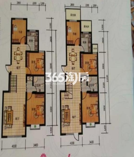 三室两厅一卫 101.21平