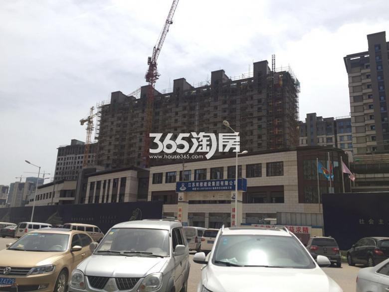 高科荣境在建楼栋实景图(6.21)