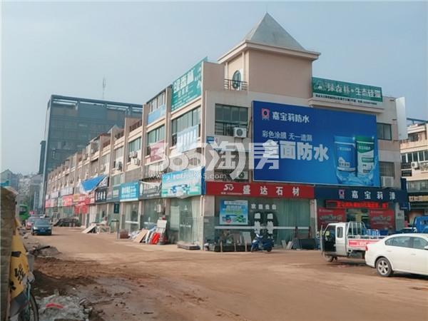 茂业长江商贸城板材区实景图