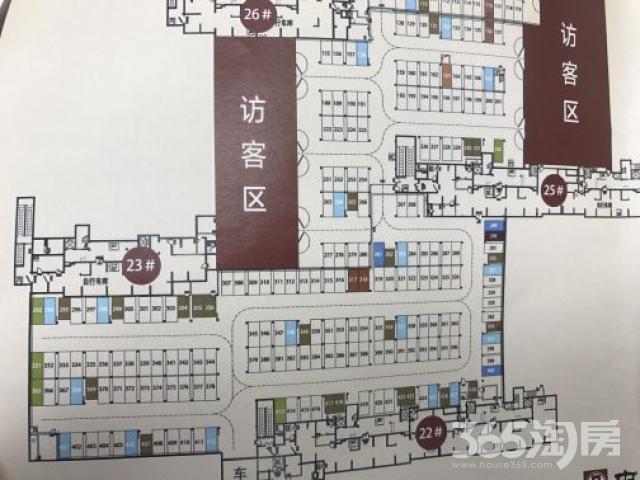 中海万锦熙岸二期产权车位