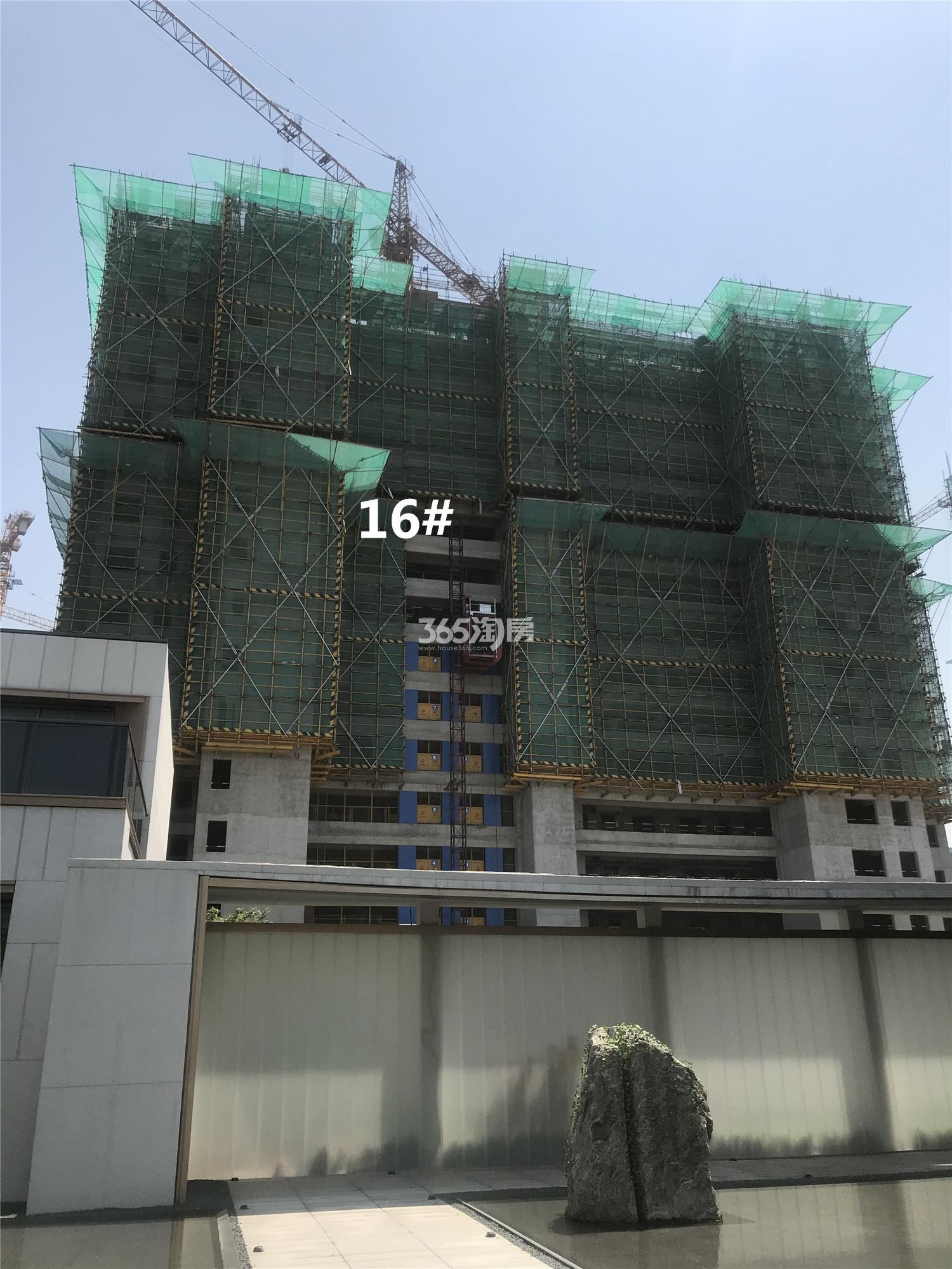 云逸都荟花园西园(都会四季西区)16#工程进展(4.24)