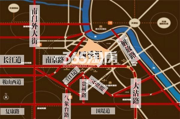 四季汇交通图
