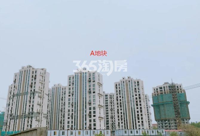海玥花园A地块最新进展图(5.28)