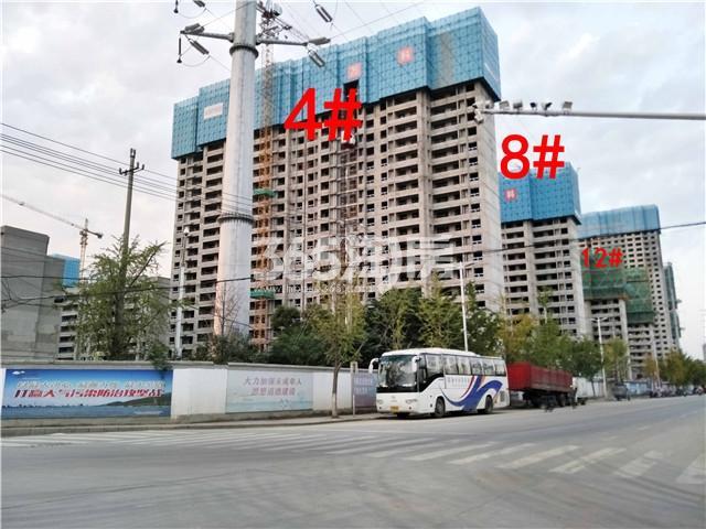 万科新都会4、8、12#楼施工实景图(9.27)