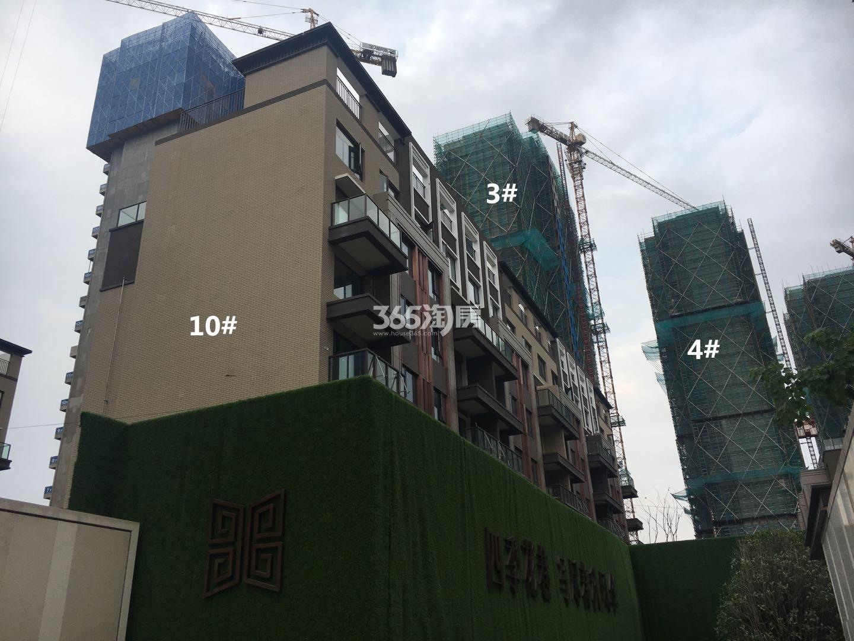 悦风华10、3、4号楼叠墅实景图(9.26)
