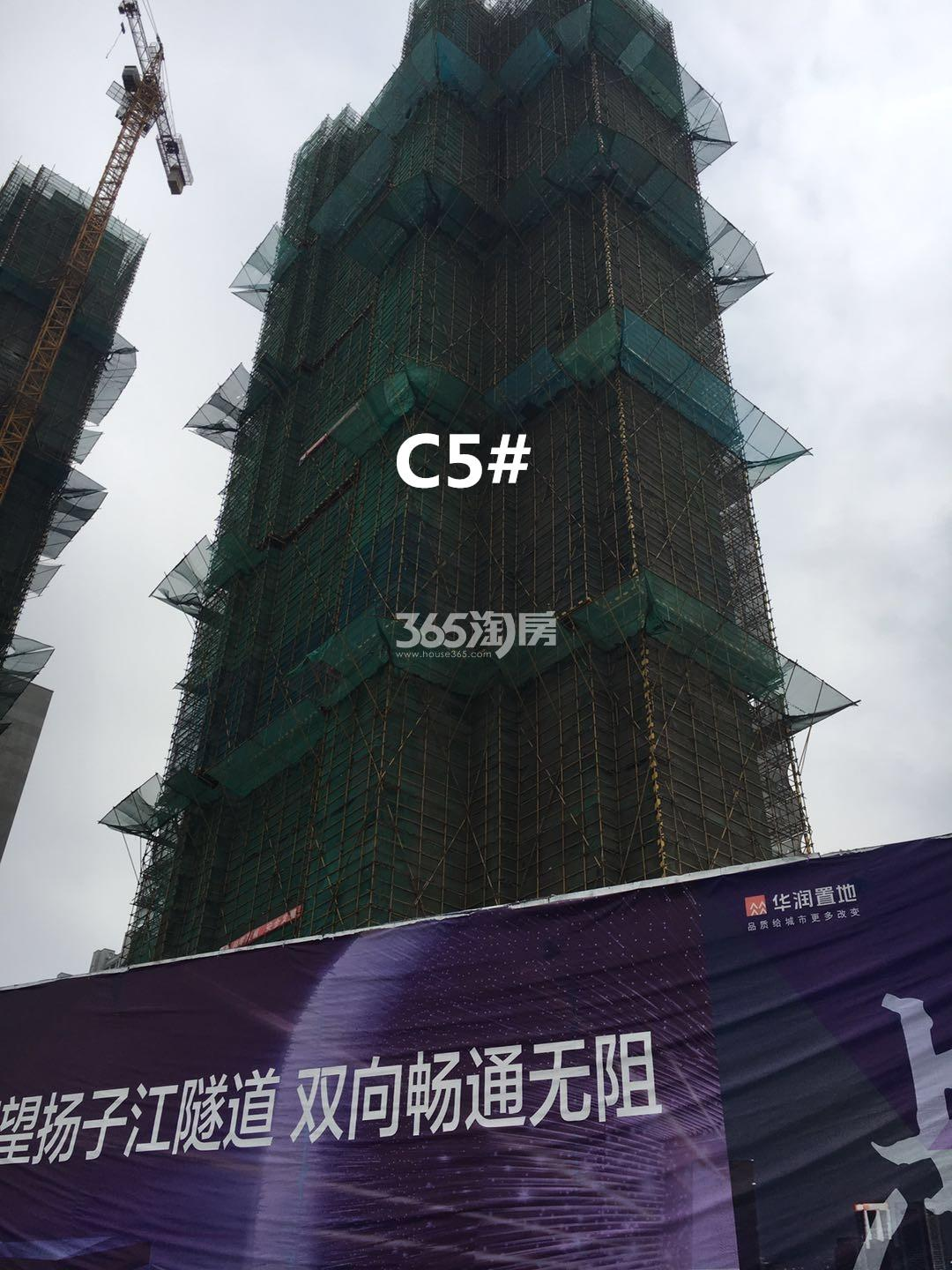 华润国际社区C5#实景图(3.19)