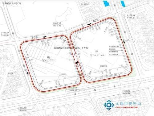 中海春合路南地块规划图