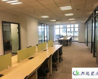 南京国际广场 玄武门地铁口 精装修视野佳 全套办公家具